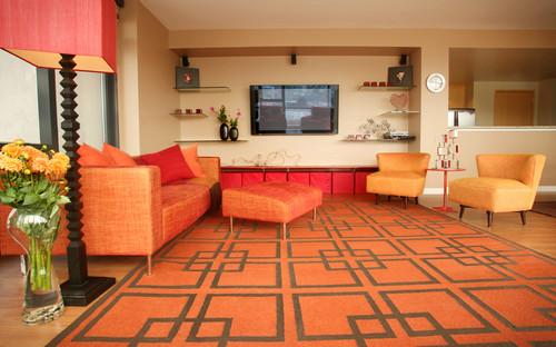 Retro obývací pokoj